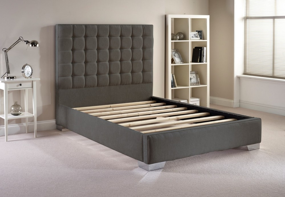Copella Fabric Upholstered Bed Frame