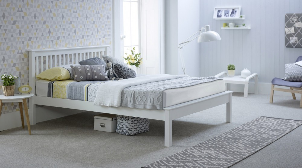 Grace Wooden Bed frame – Low Footboard