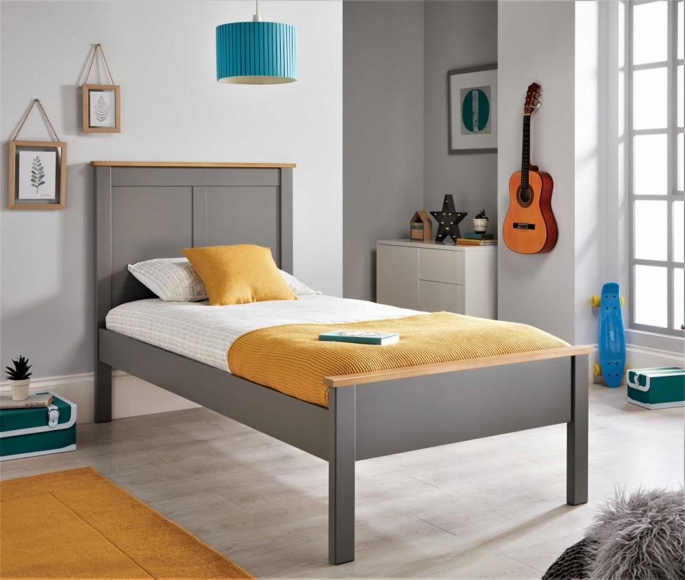 Vigo Grey Bed Frame