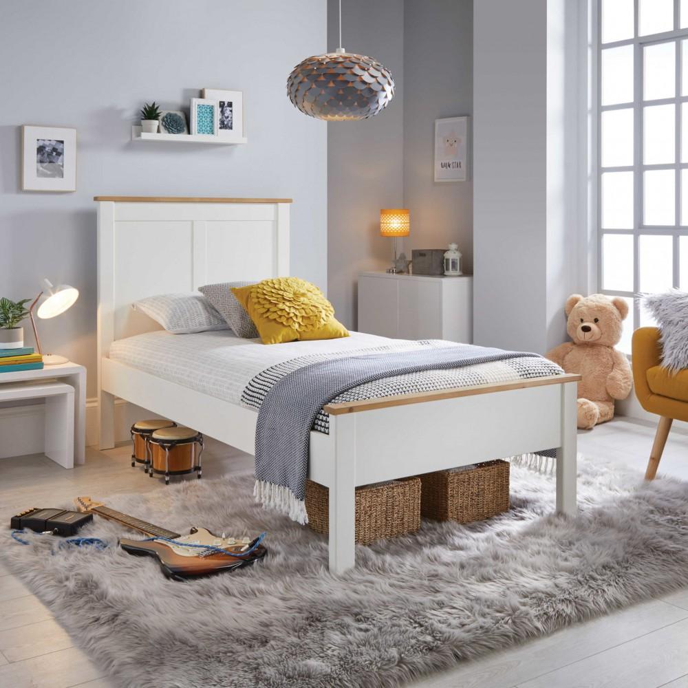 Vigo White Bed Frame