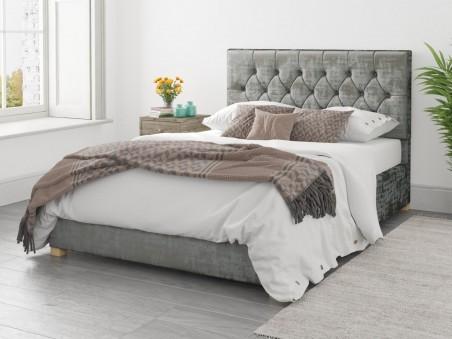 Uncategorized Alexandra Ottoman Bed In Distressed Velvet