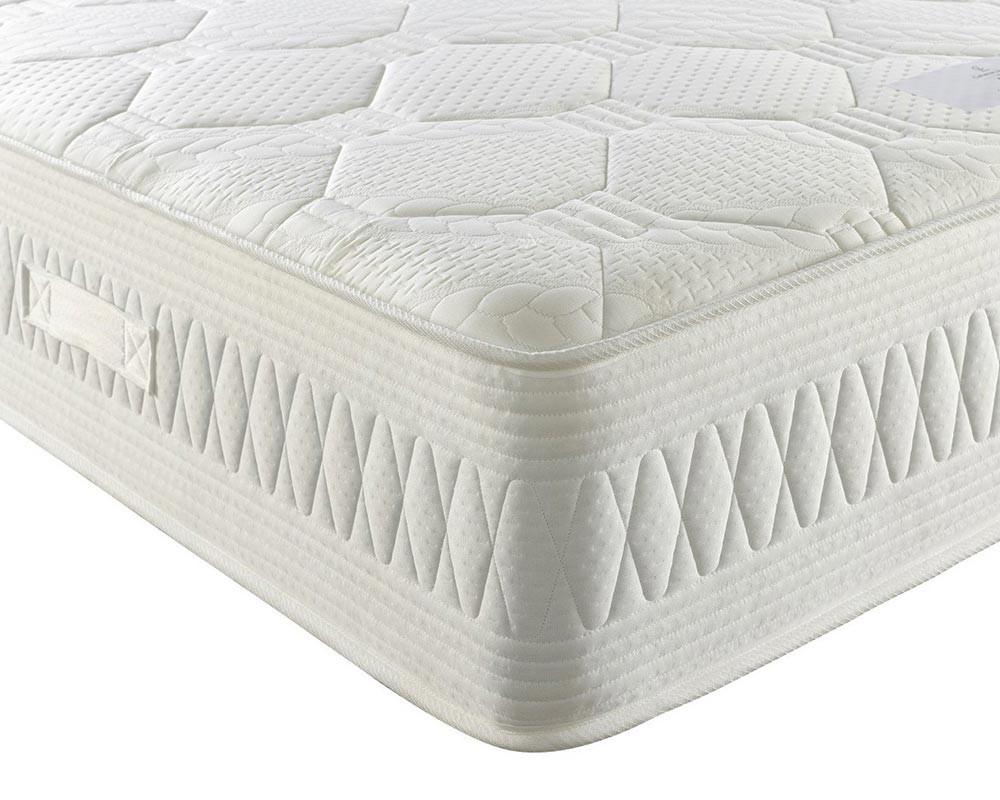 Catherine Lansfield Luxury Pocket Mattress zoomed white