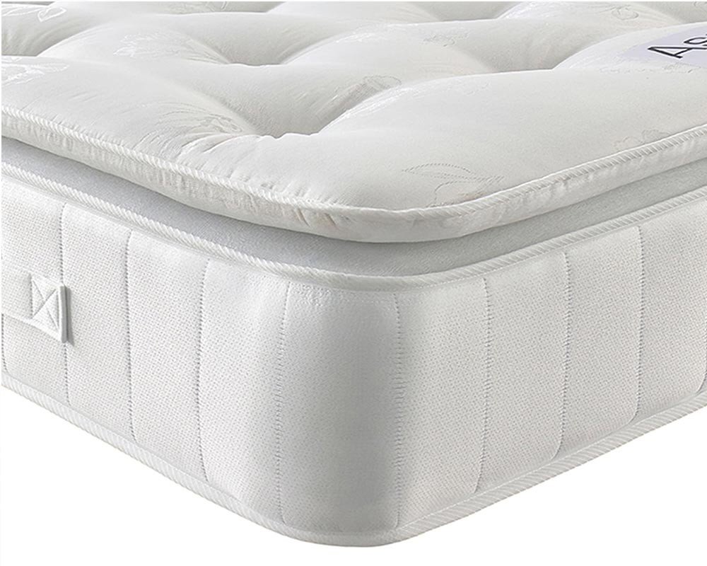 Natural Cashmere Pillow top Mattress zoomed white