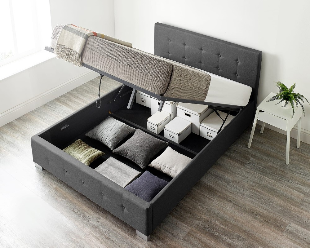Storage Ottoman Bed Available in...