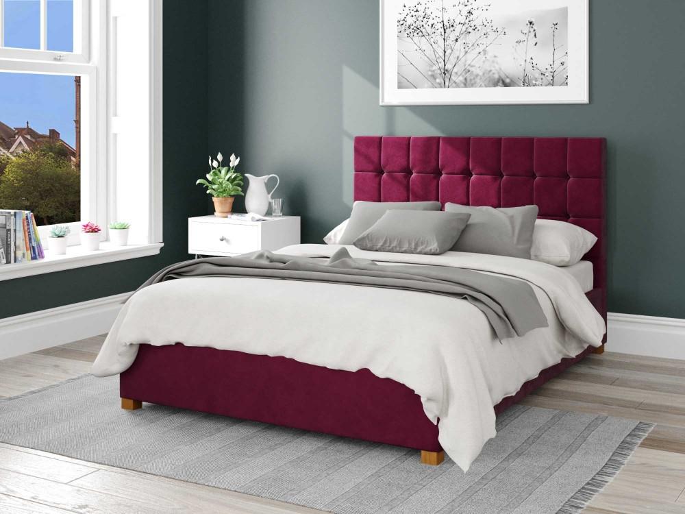 Sinatra Fabric Ottoman Bed