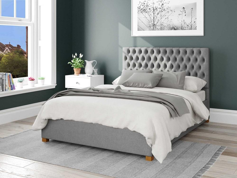 Monroe Upholstered Ottoman Bed 3ft...