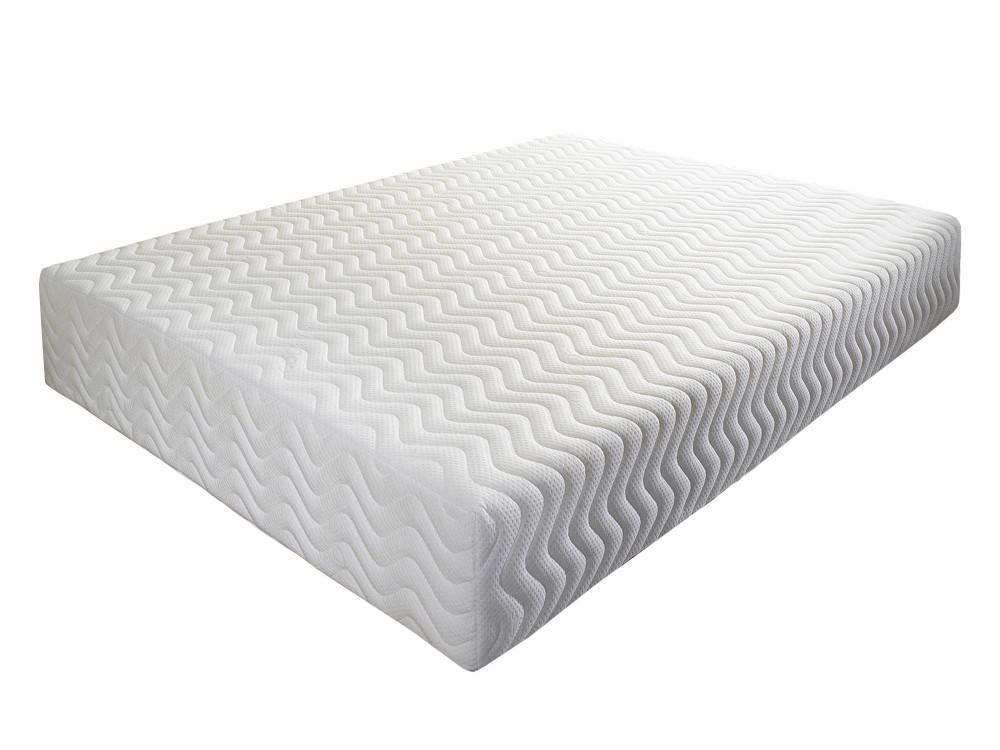 Aspire Pure Relief Memory Foam Mattress white background