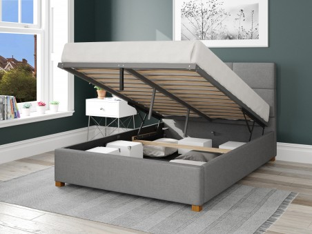 Beds Caine Fabric Ottoman Bed