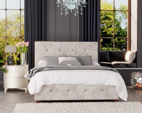 Beds Laurence Llewelyn-Bowen Hesper Velvet Fabric Ottoman Bed