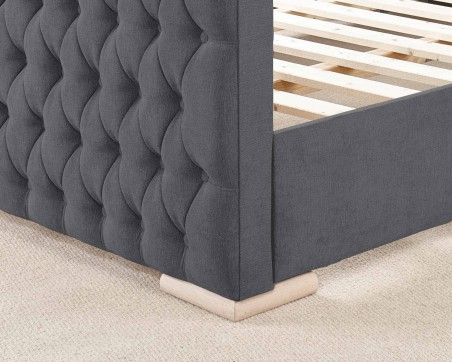 Bed Frames Martyn Bedframe in Kimiyo Linen