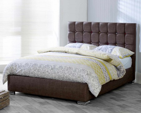 Bed Frames Catherine Lansfield Gatsby Classic Nutmeg Bed Frame