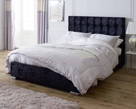 Bed Frames Catherine Lansfield Gatsby Classic Black Bed Frame