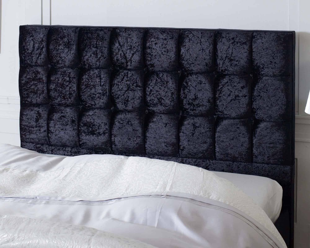 Catherine Lansfield Gatsby Classic Black Bed Frame