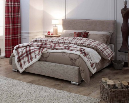 Bed Frames Catherine Lansfield Heritage Classic Caramel Bed Frame