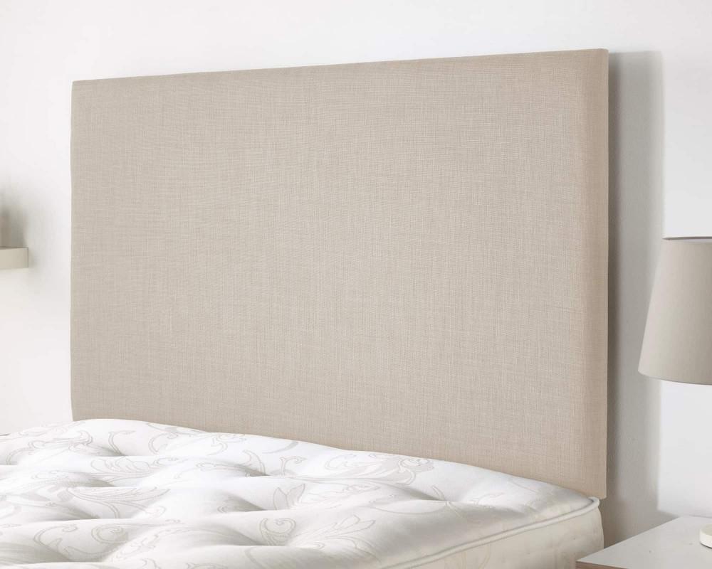 Derwent headboard in Malham Weave Linen