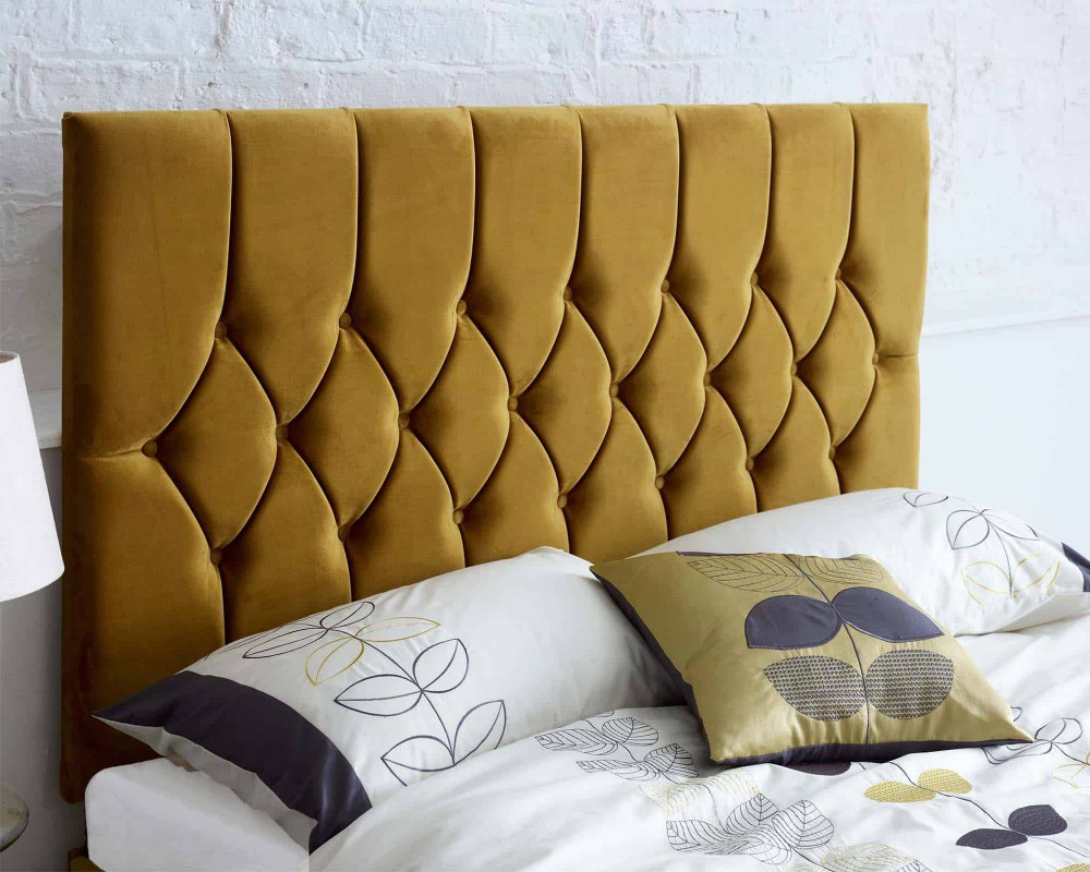 Catherine Lansfield Boutique Collection Velvet Headboard