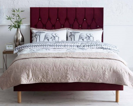 Headboards Catherine Lansfield Boutique Collection Velvet Headboard