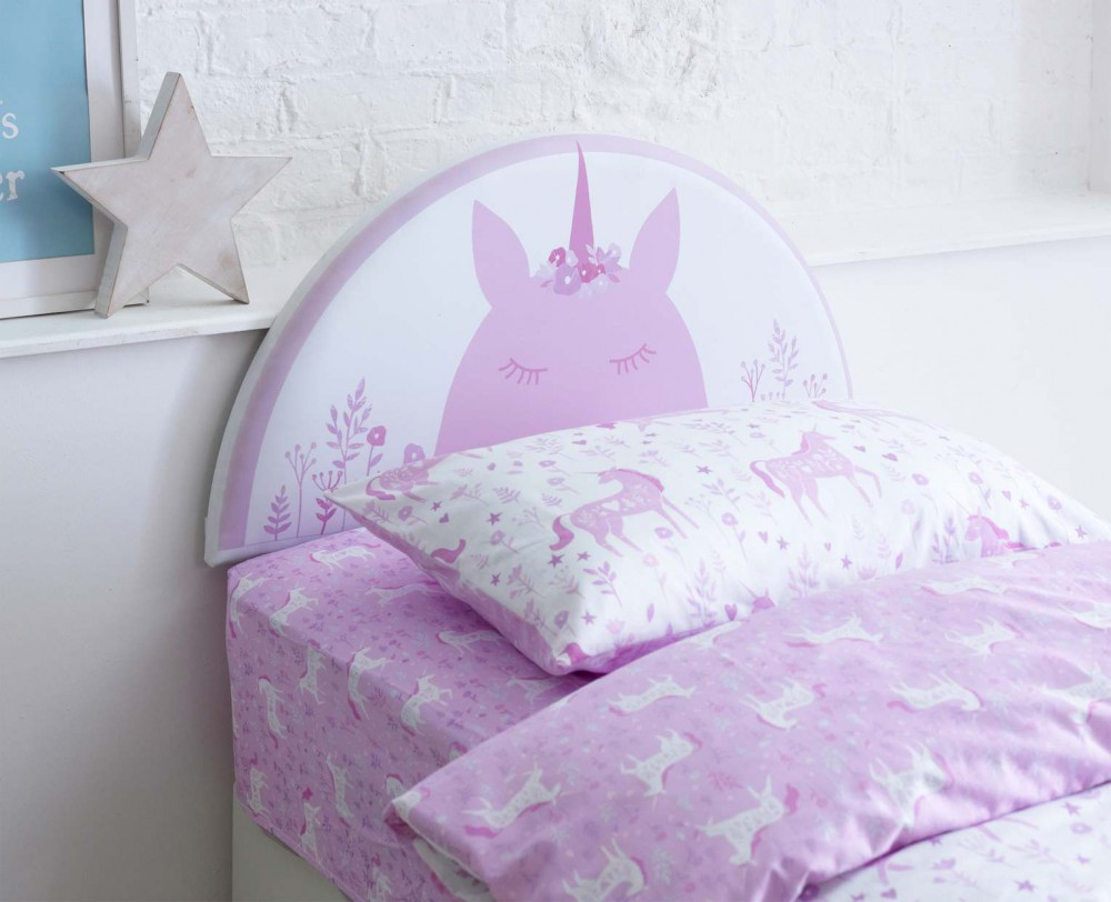 Catherine Lansfield Kids Unicorn Headboard